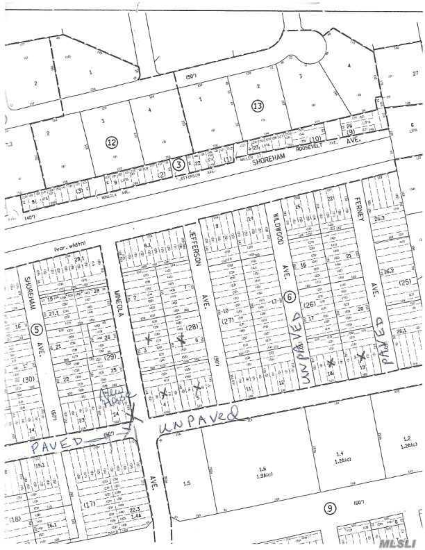 Lot #4 Mineola & Toledo Ave - Miller Place, New York