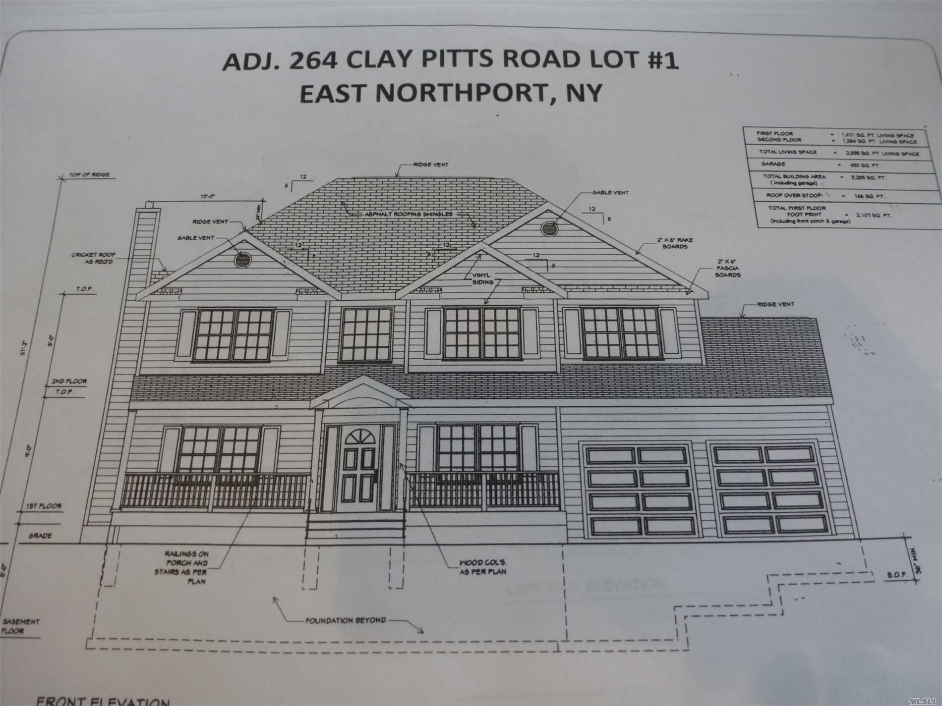 Adj264 Lt1 Clay Pitts Rd - E. Northport, New York