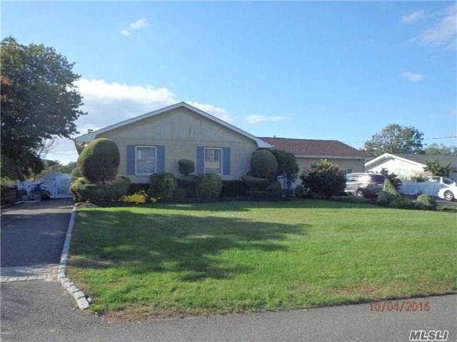 Photo of home for sale at 12 Wall St, East Patchogue NY