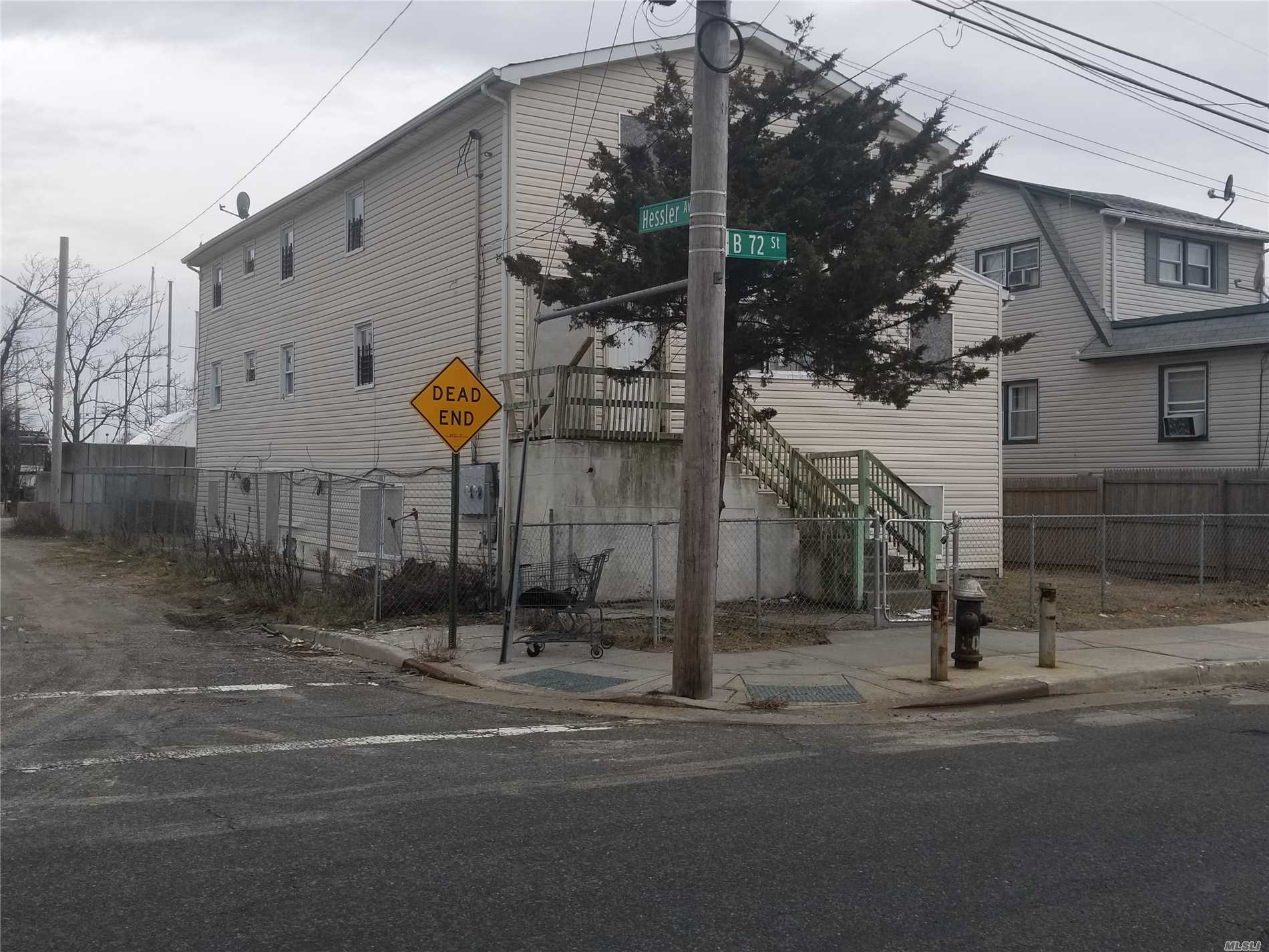 Photo of home for sale at 451 B 72 Street, Arverne NY