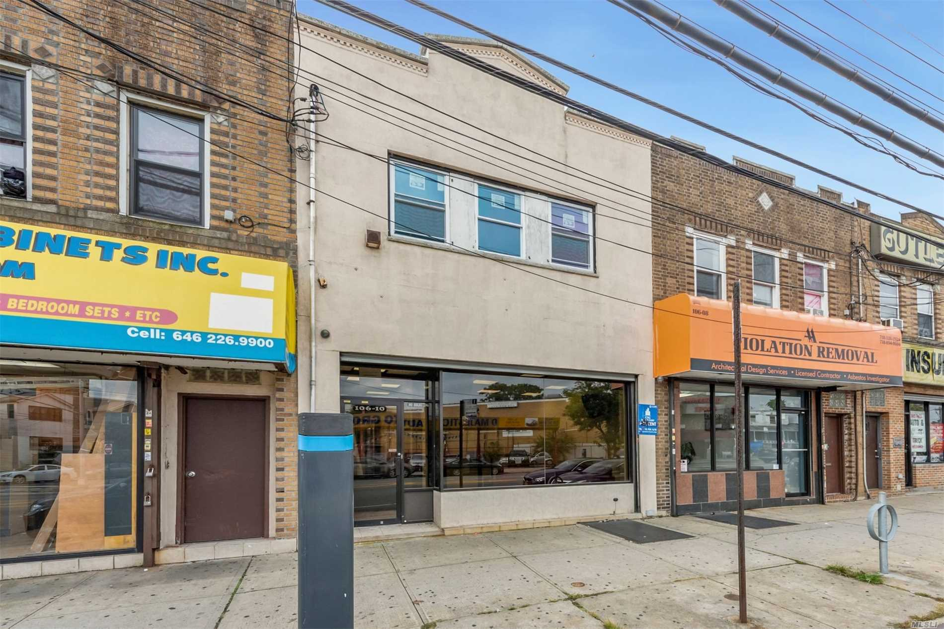 Photo of home for sale at 106-10 Rockaway Blvd, Ozone Park NY