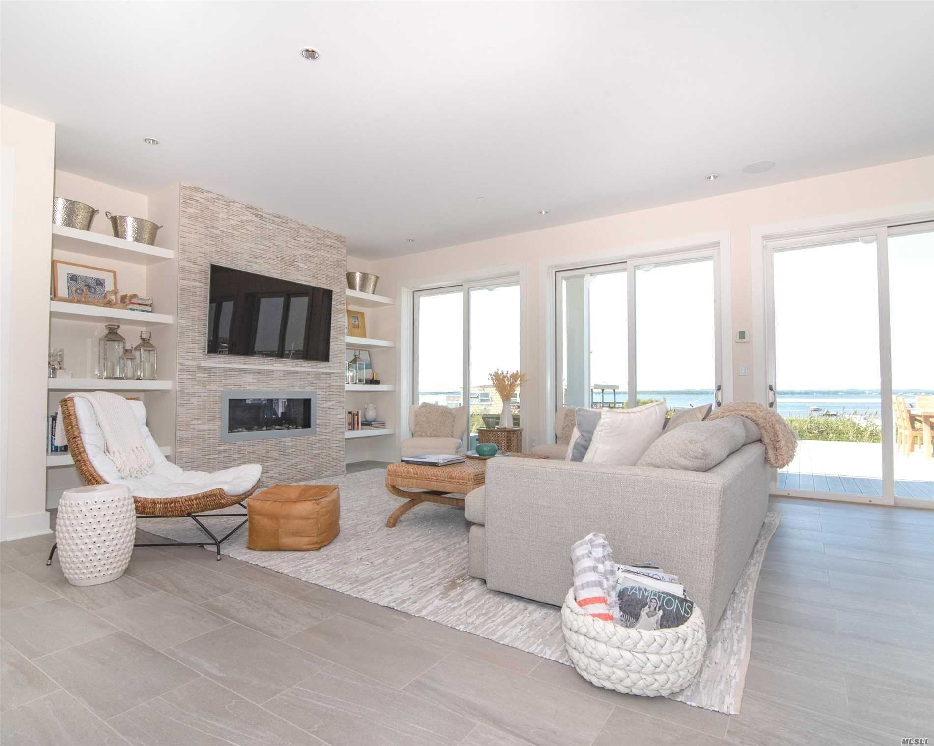 Photo of home for sale at 826 Dune Rd, Westhampton Bch NY