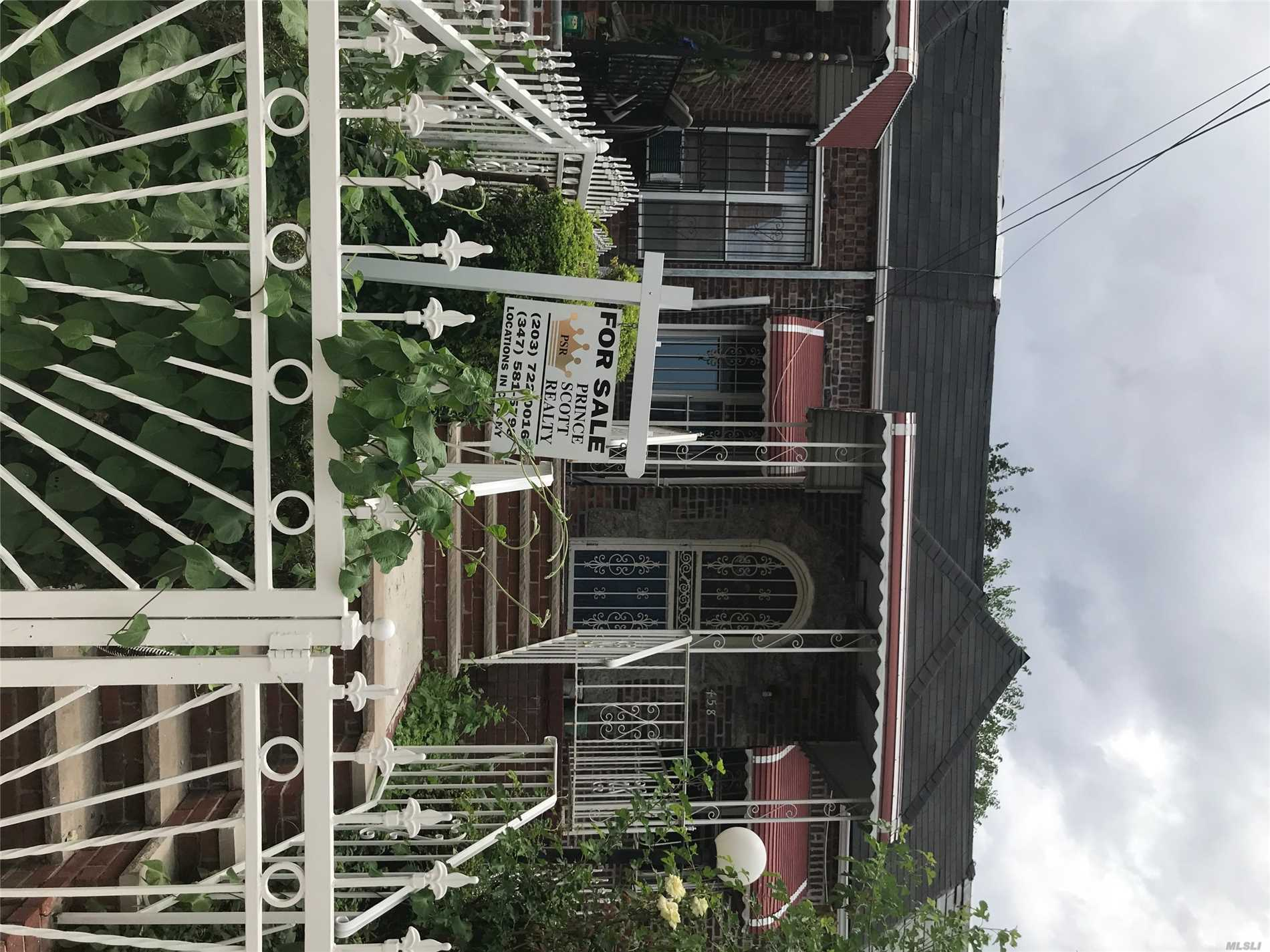 Photo of home for sale at 458 38th St E, Brooklyn NY