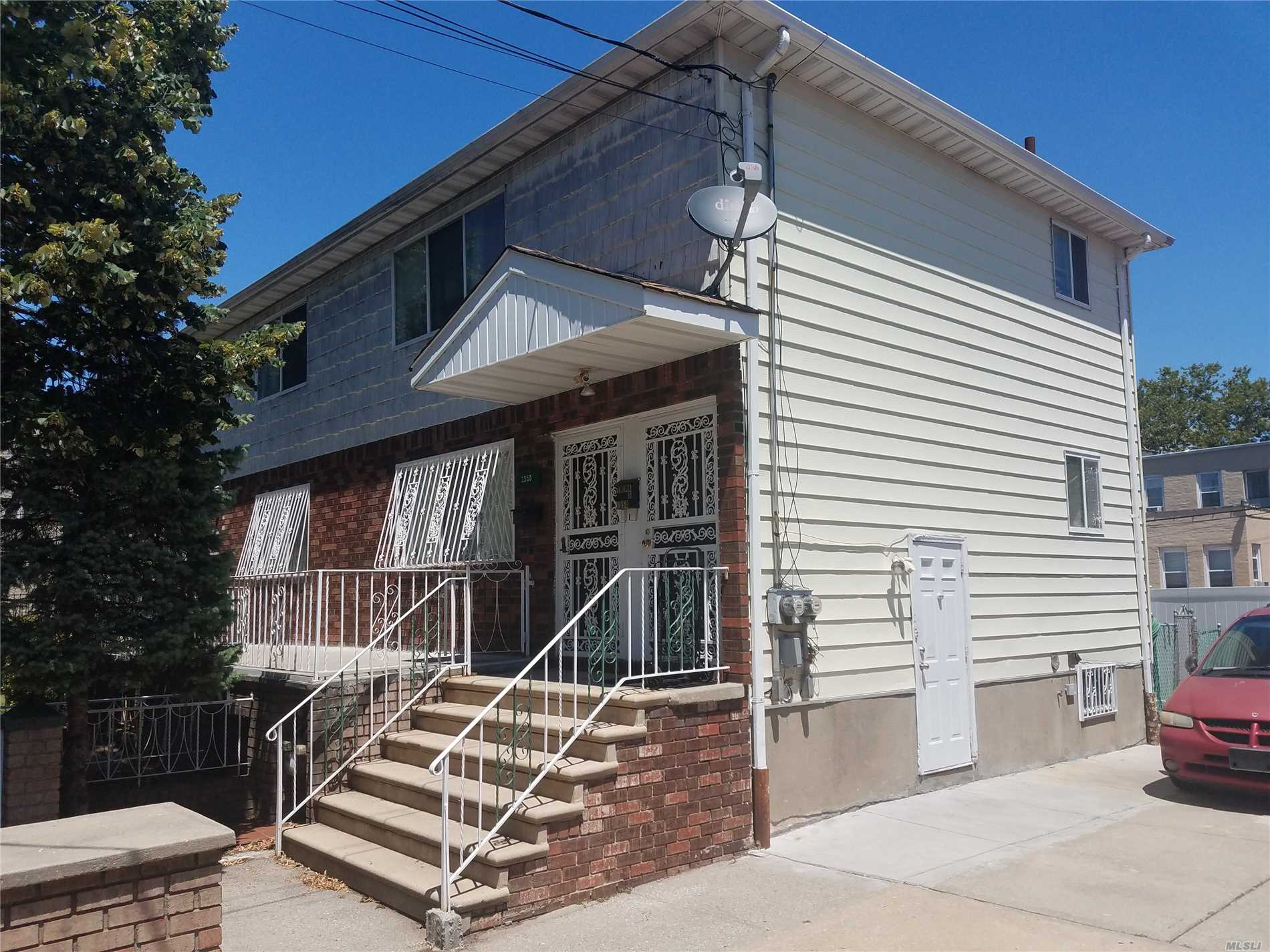 Photo of home for sale at 1553 Kimball St, Brooklyn NY