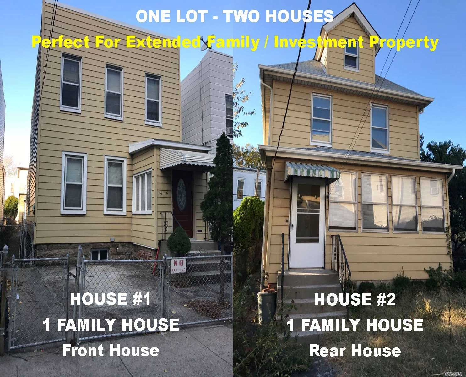 Photo of home for sale at 59-19 Decatur St, Ridgewood NY