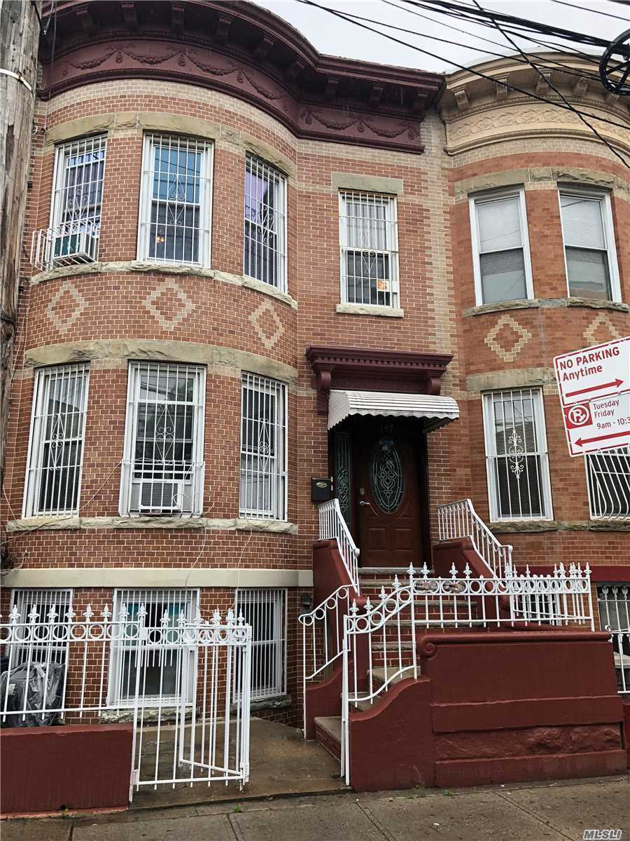 Photo of home for sale at 197 Hemlock St, Brooklyn NY