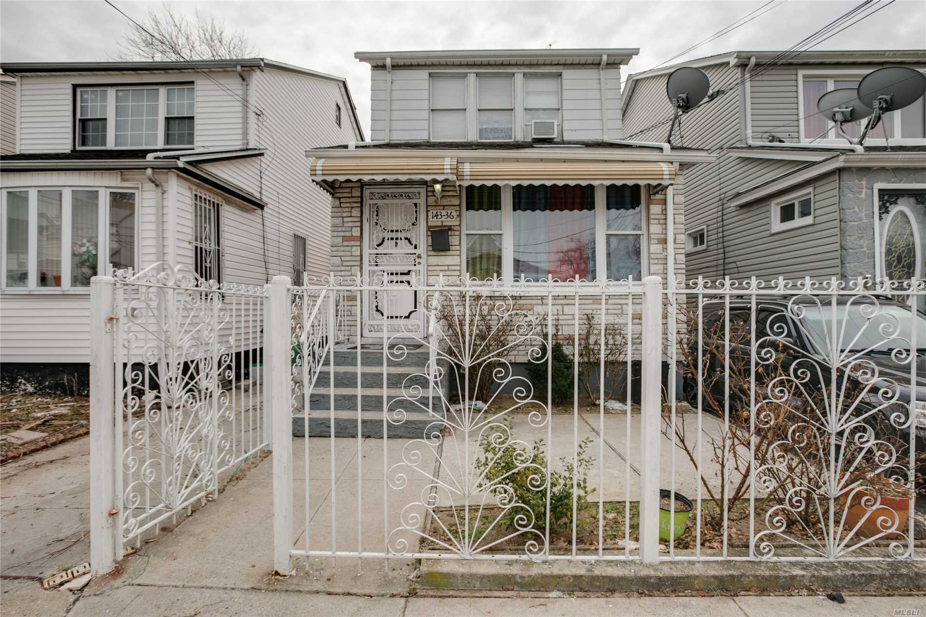 Photo of home for sale at 143-36 110th Ave, Jamaica NY
