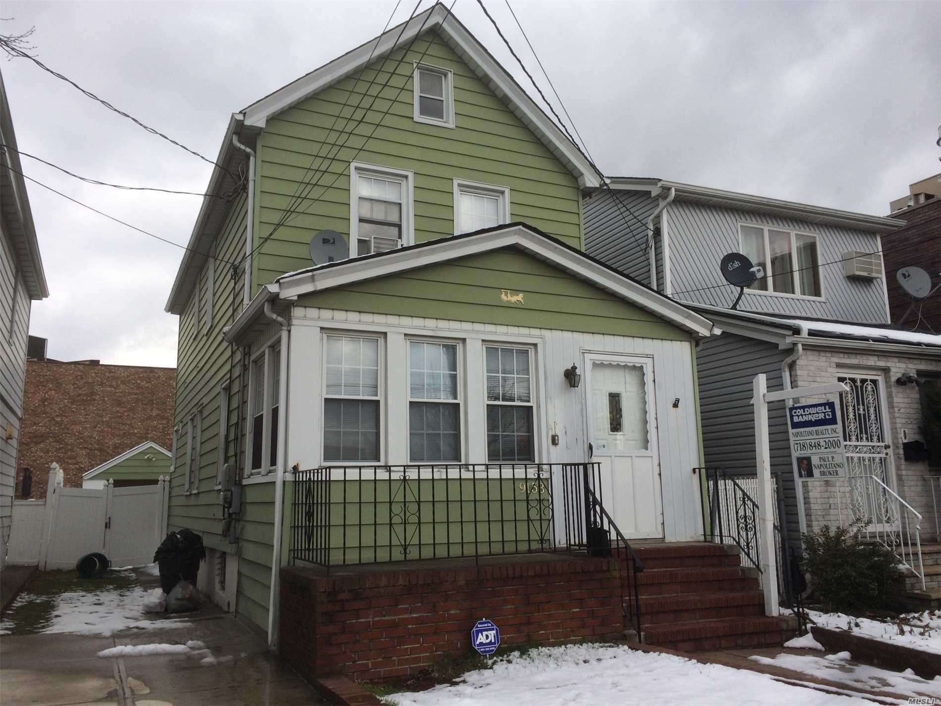 Photo of home for sale at 91-53 Gold Rd, Ozone Park NY