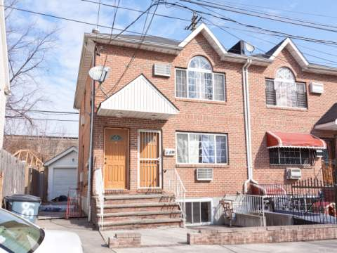 Photo of home for sale at 115-39 Bedell St, Jamaica NY