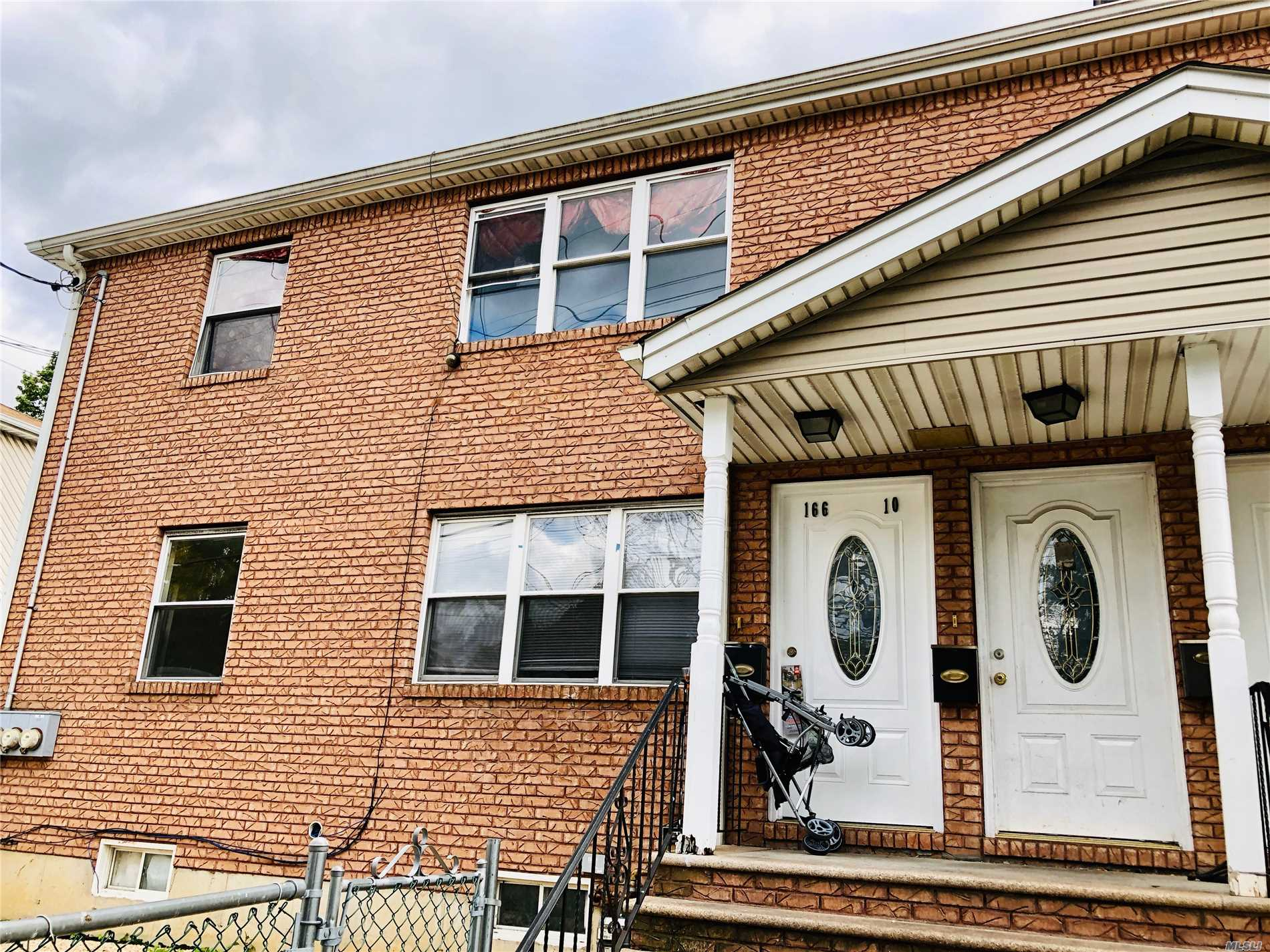Photo of home for sale at 166-10 140 Ave, Jamaica NY