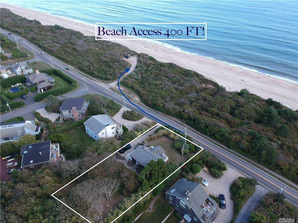 Photo of home for sale at 469 Old Montauk Hwy, Montauk NY