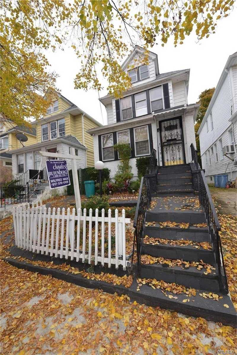 Photo of home for sale at 119-14 144th St, Jamaica NY