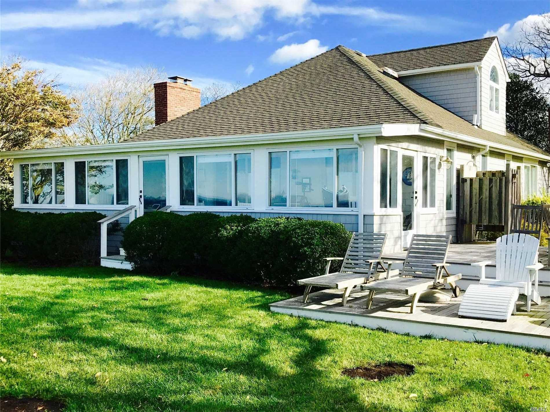 Photo of home for sale at 504 Sound Shore Rd, Jamesport NY
