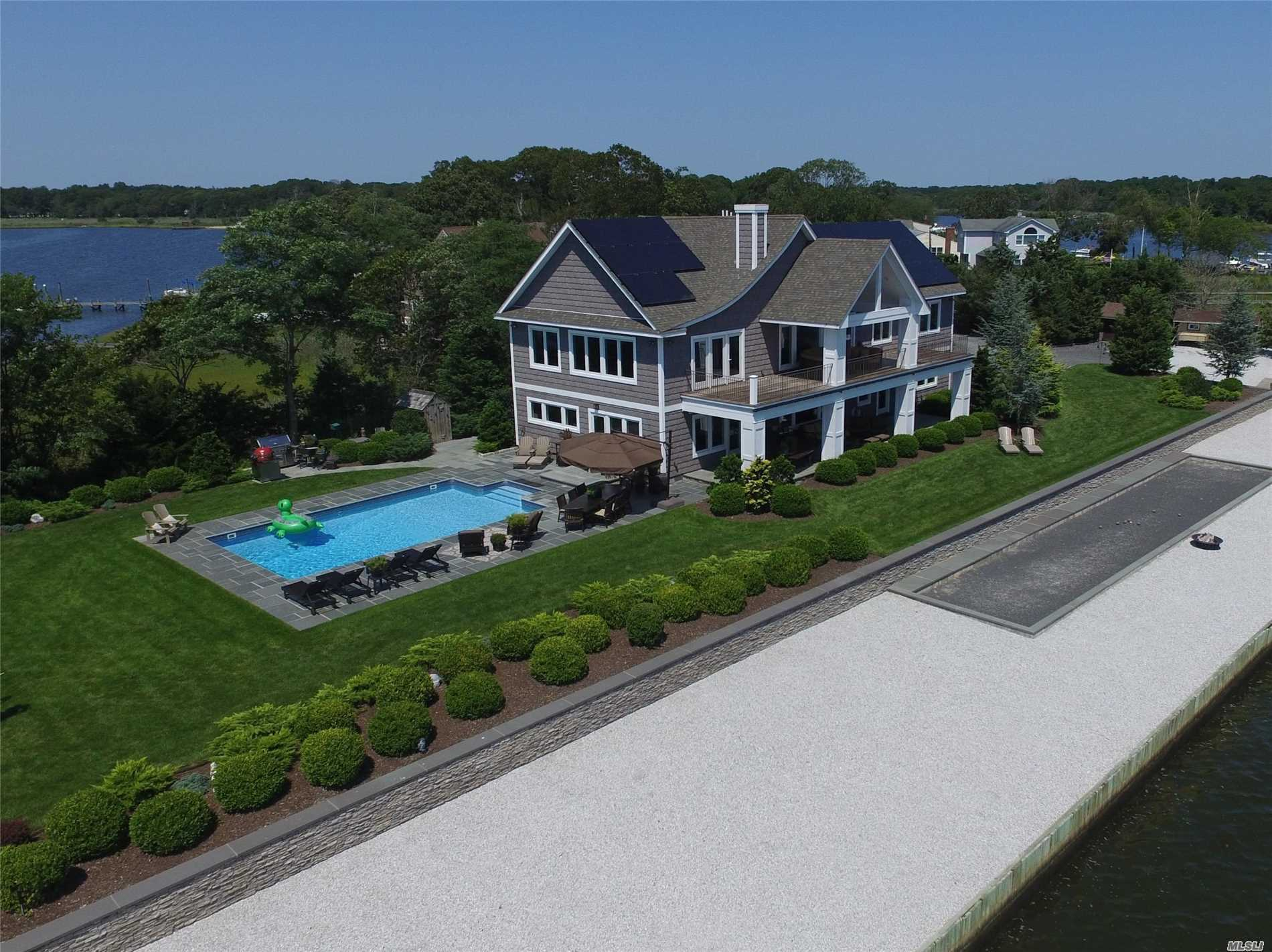 Photo of home for sale at 150 Crystal Beach Blvd, Moriches NY