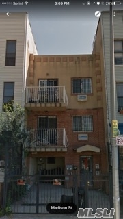 Photo of home for sale at 956 Madison St, Bushwick NY