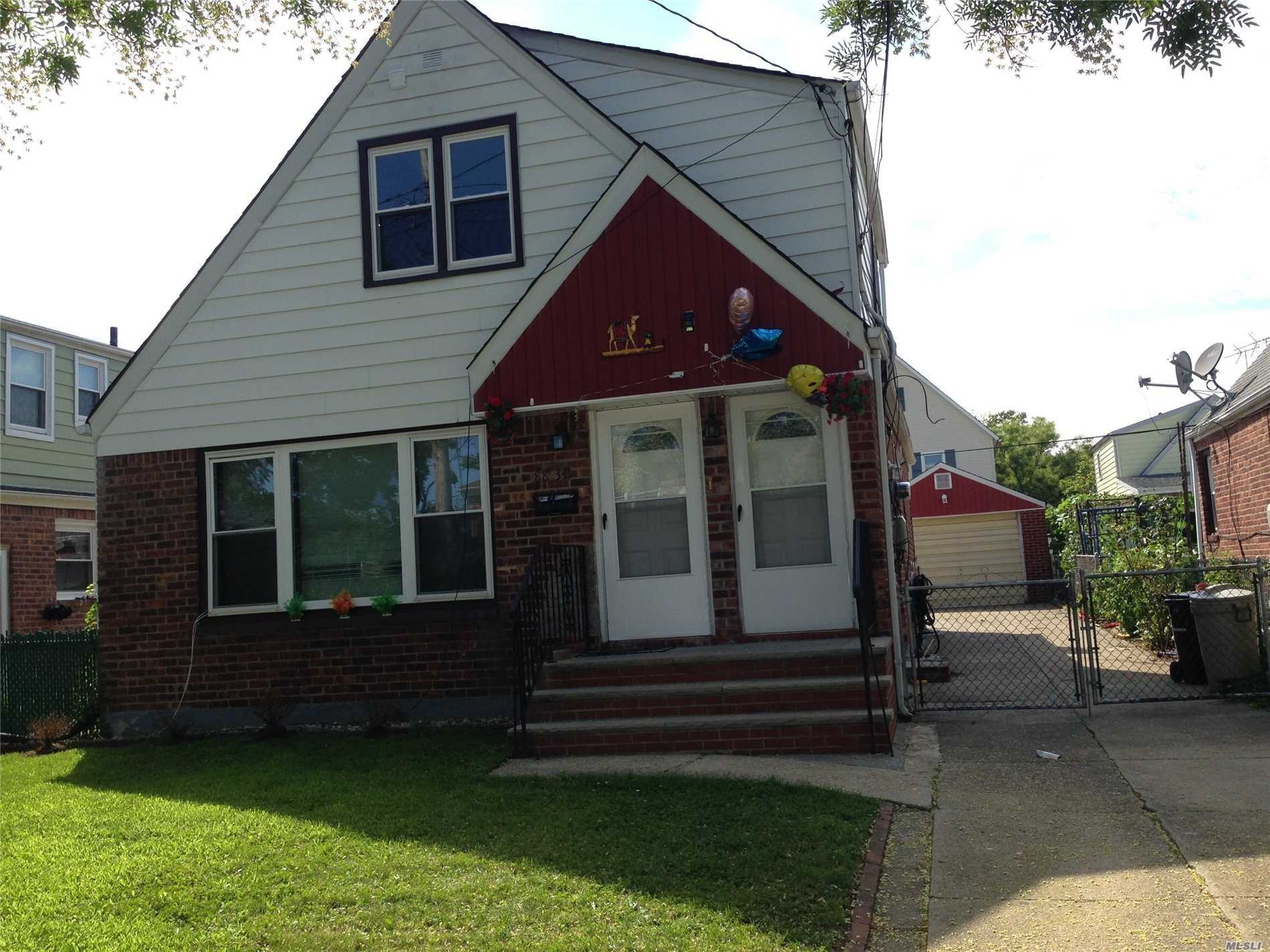 Photo of home for sale at 88-34 Ransom St, Queens Village NY