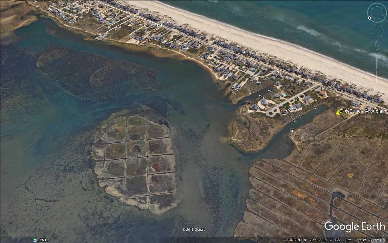 Photo of home for sale at 910 Dune Rd, Westhampton Bch NY