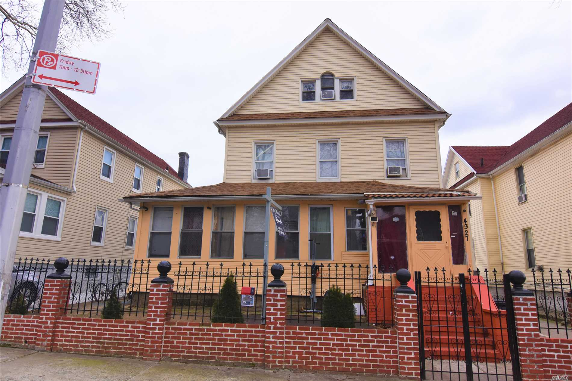 Photo of home for sale at 43-27 68th St, Woodside NY