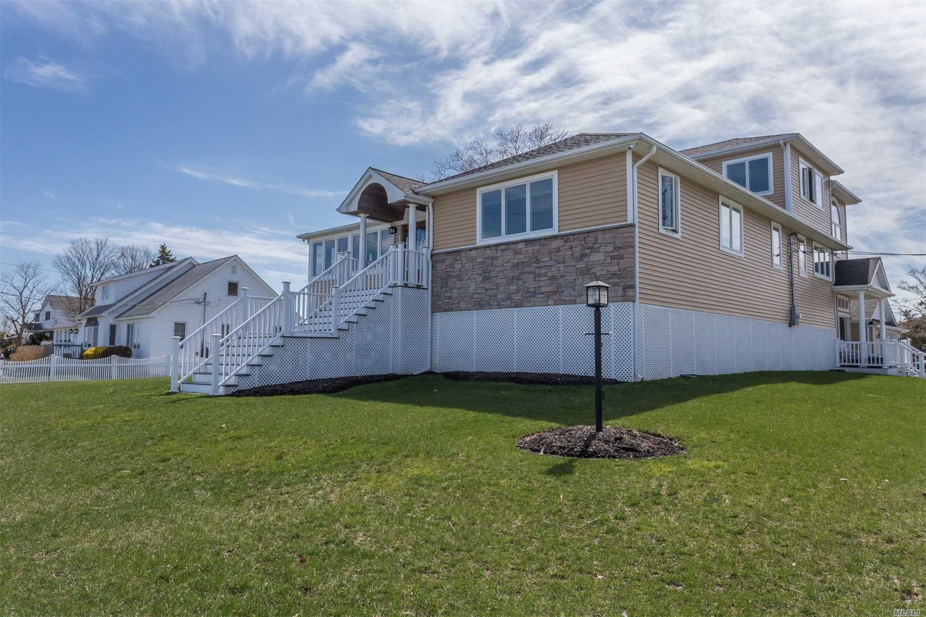 Photo of home for sale at 480 Riviera Dr, Mastic Beach NY