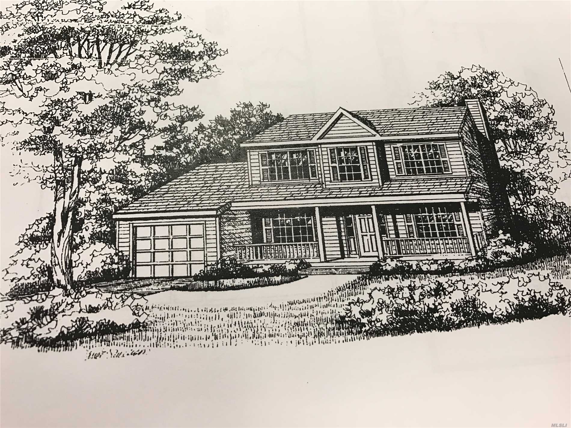 Photo of home for sale at Lot 6 League Ct, Centereach NY