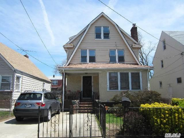 Photo of home for sale at 110-15 214 St, Queens Village NY