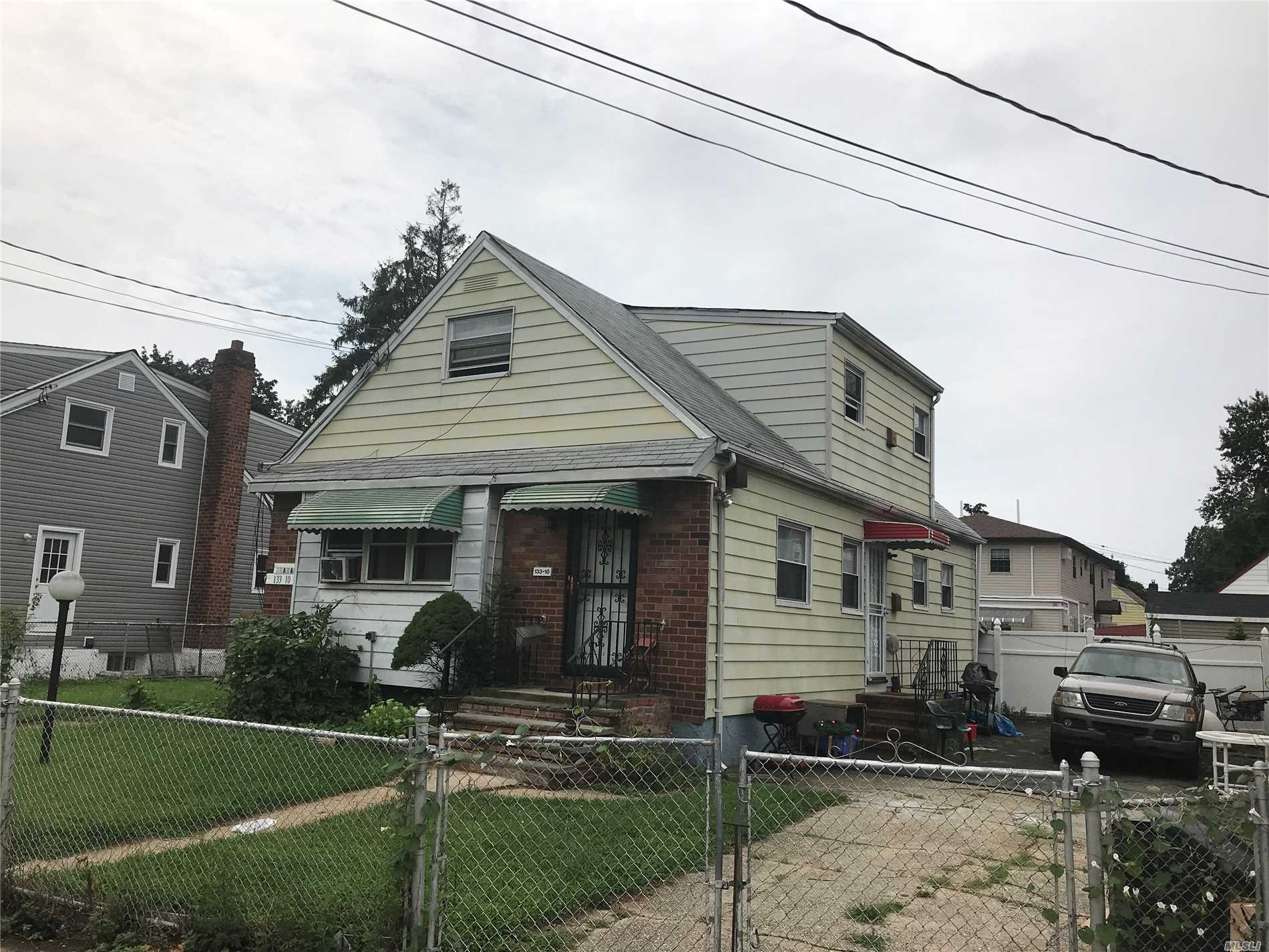 Photo of home for sale at 133-10 160th St, Jamaica South NY
