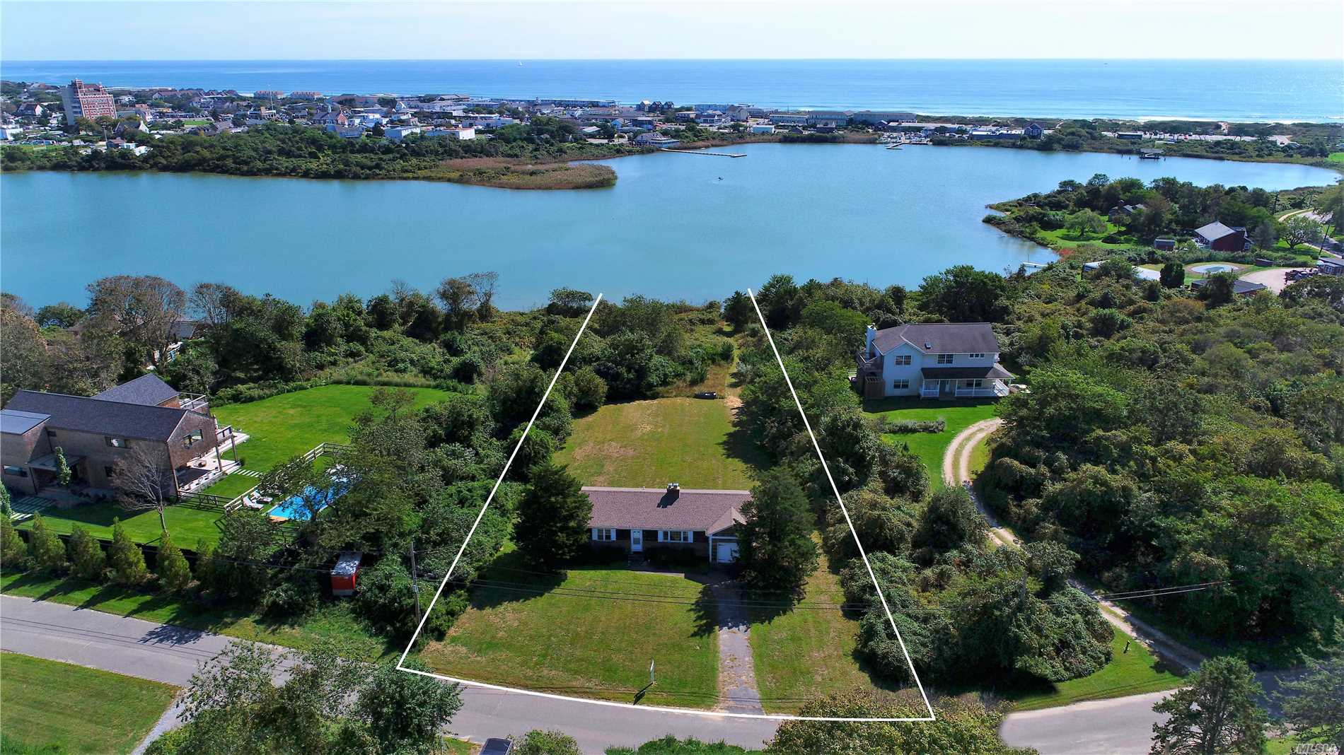 Photo of home for sale at 26 Elroy Dr S, Montauk NY