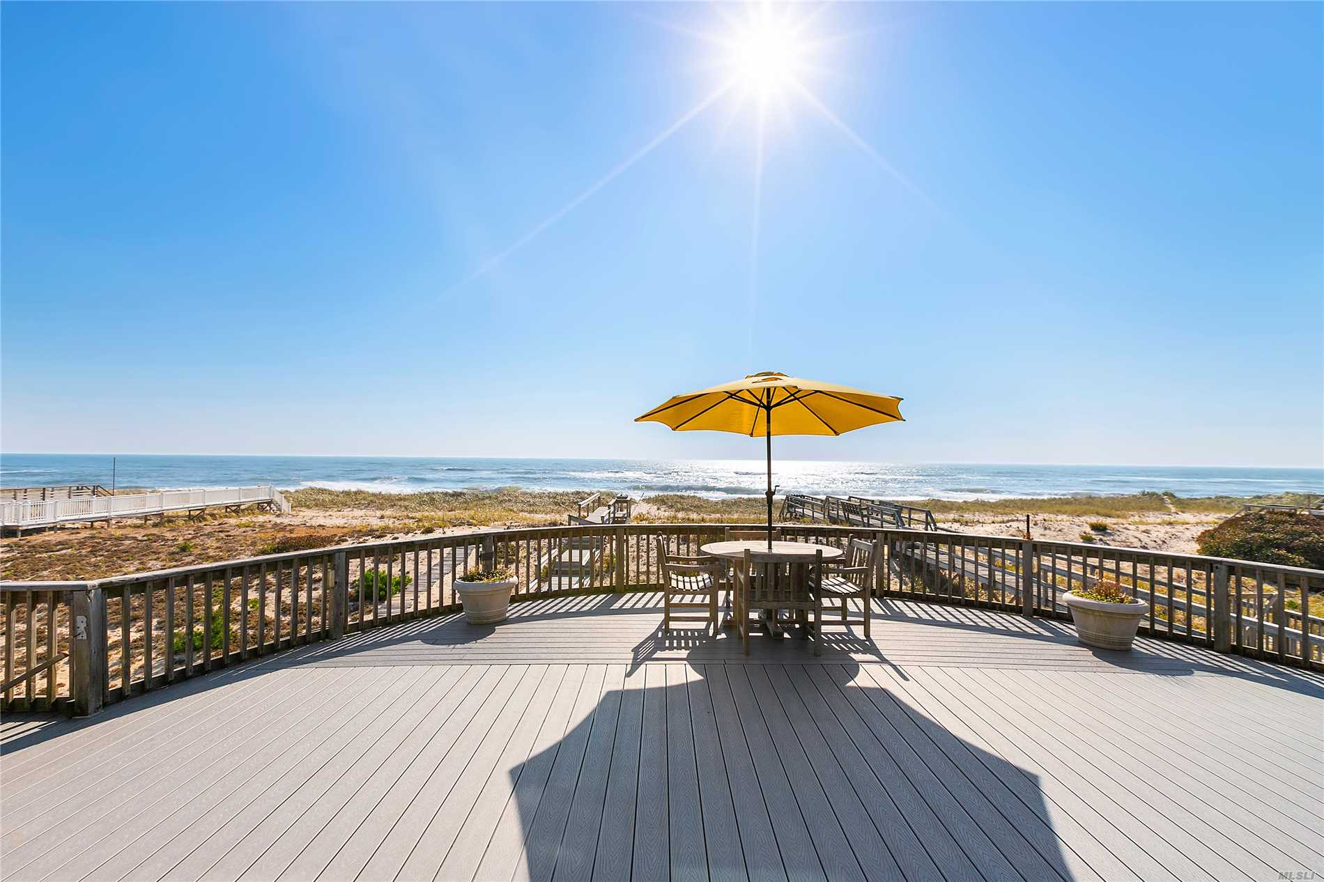 Photo of home for sale at 673 Dune Rd, Westhampton Dune NY