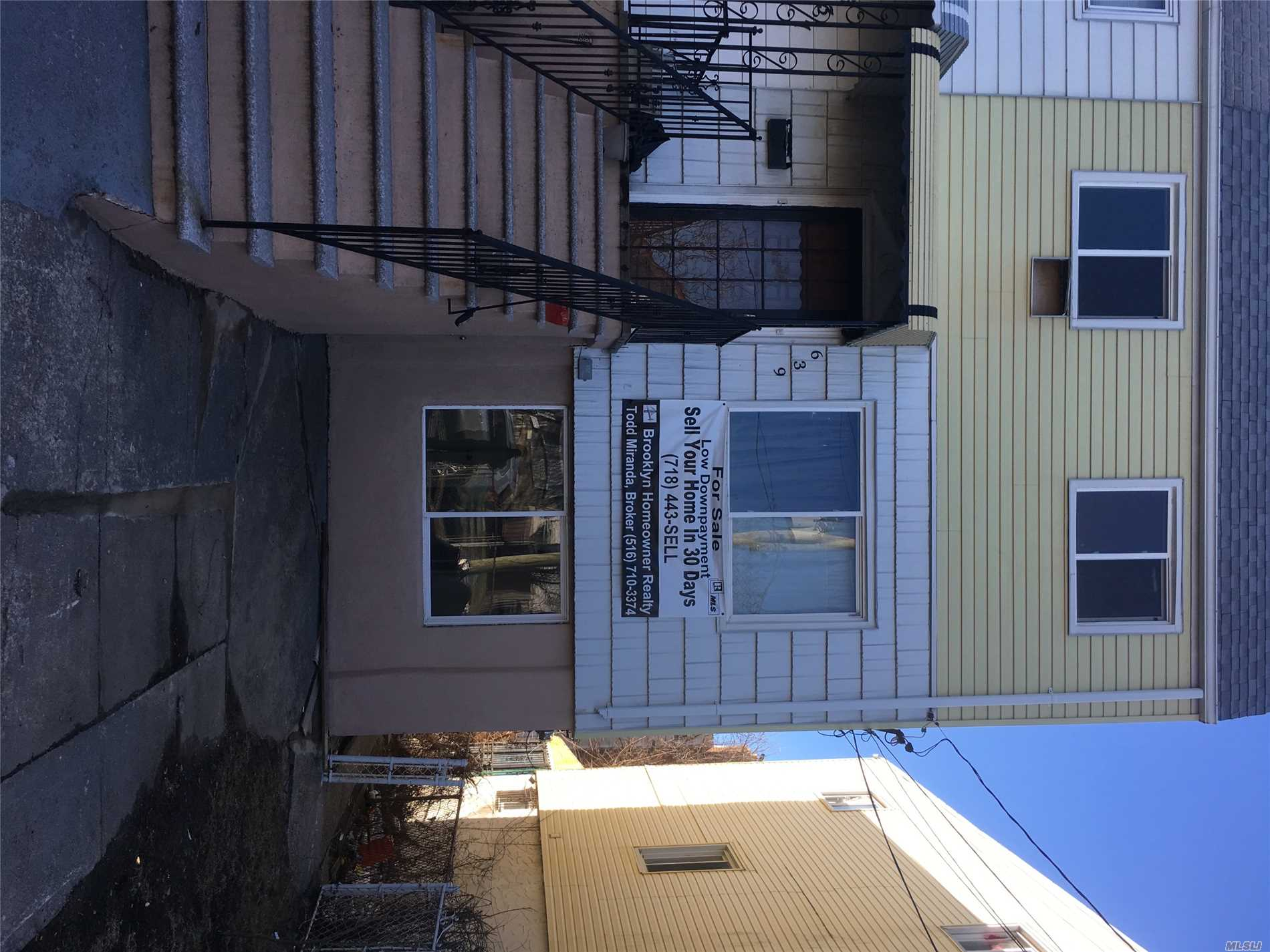 Photo of home for sale at 639 Beach 65th St, Far Rockaway NY