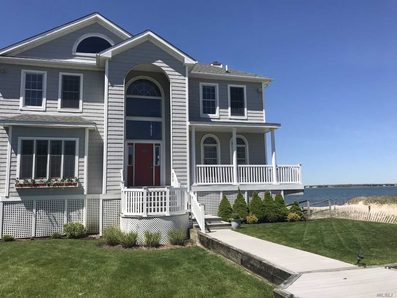Photo of home for sale at 670 Dune Rd, Westhampton Dune NY