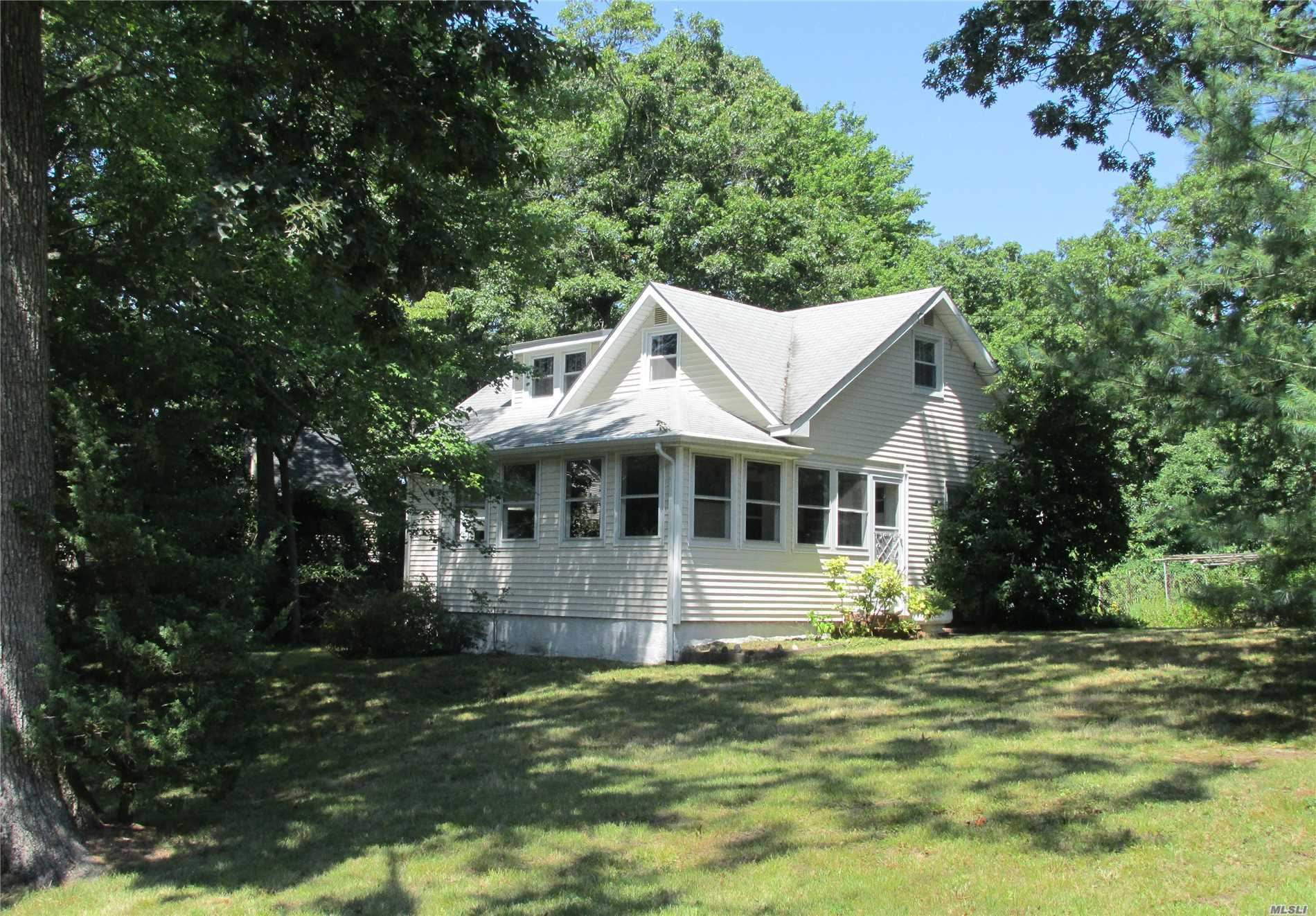Photo of home for sale at 15 Quail Rd, Rocky Point NY