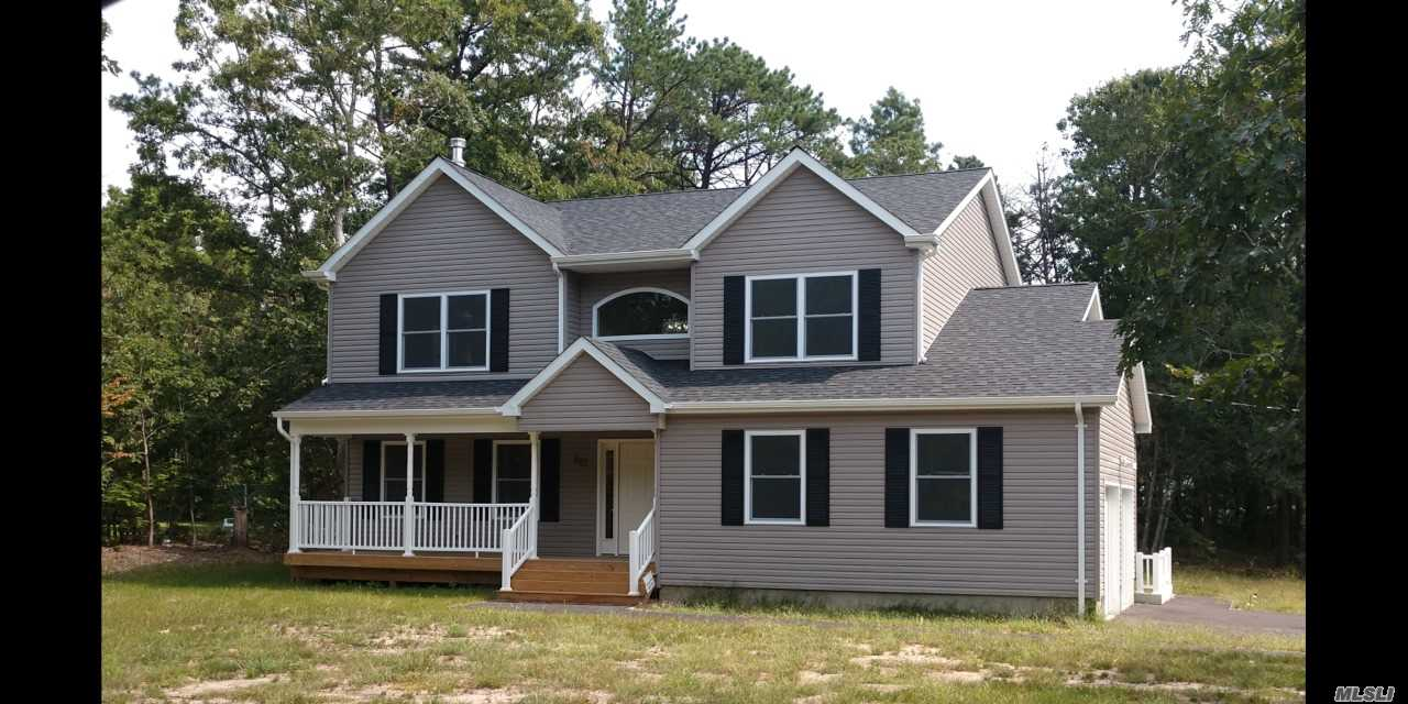 Photo of home for sale at Lot #1 Winters Dr, Mastic NY