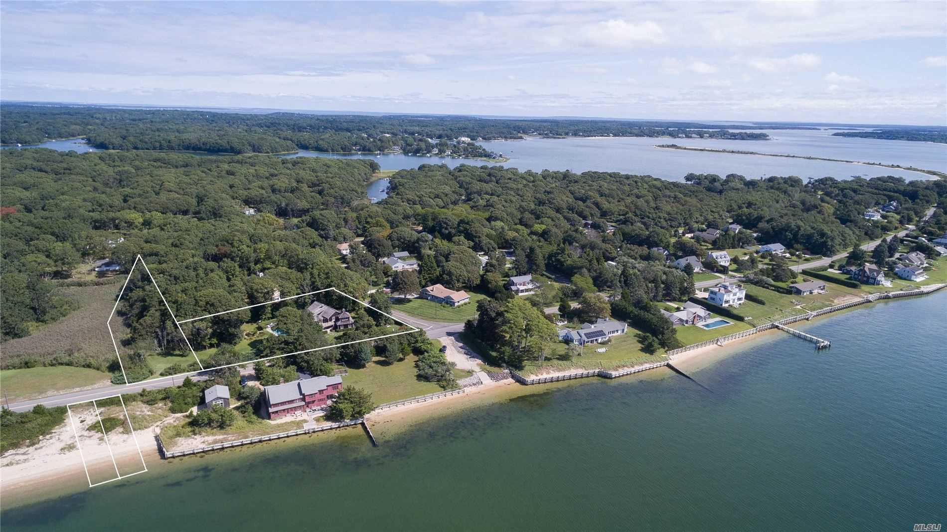 Photo of home for sale at 47 Peconic Ave, Shelter Island NY