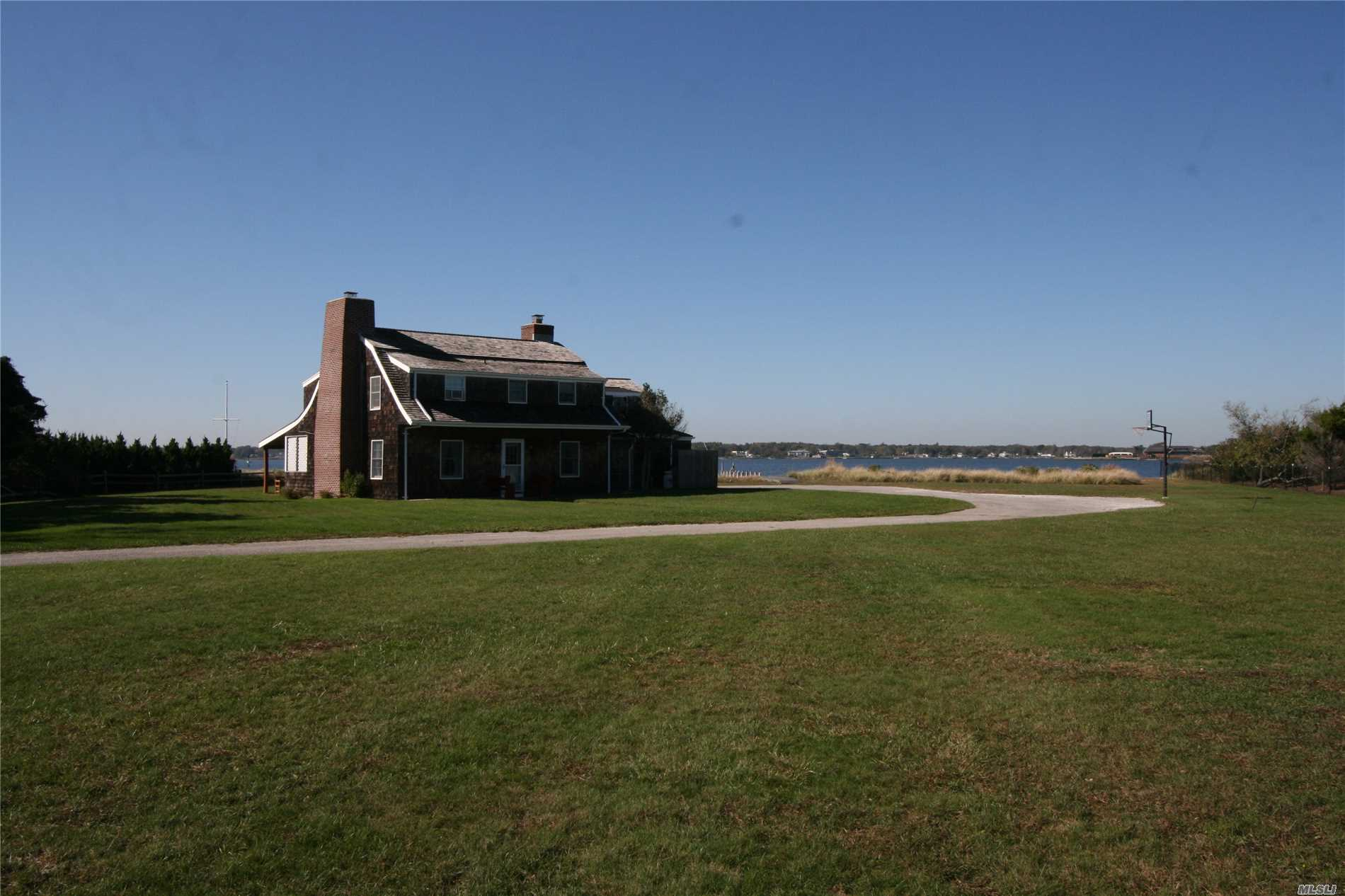 Photo of home for sale at 4 Dune Rd, Westhampton Bch NY