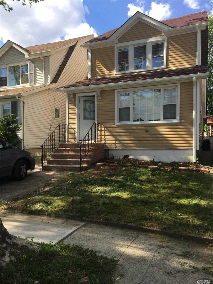 Photo of home for sale at 244-55 90th Ave, Bellerose NY