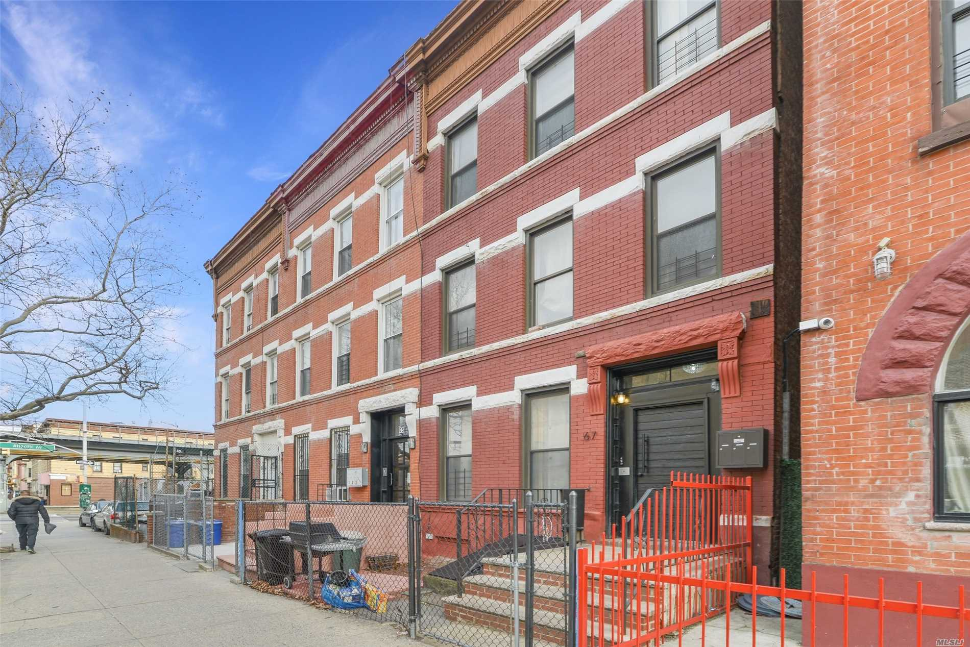 Property for sale at 67 Kingston Ave, Brooklyn,  New York 11213