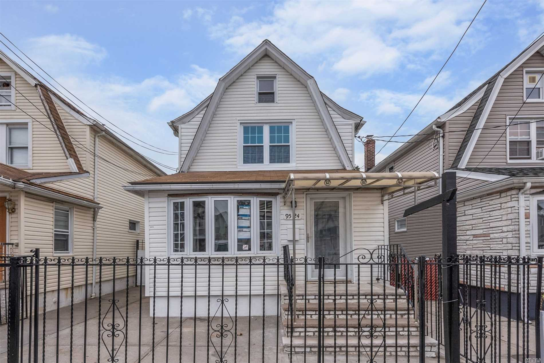 Photo of home for sale at 95-24 131st St, Richmond Hill North NY