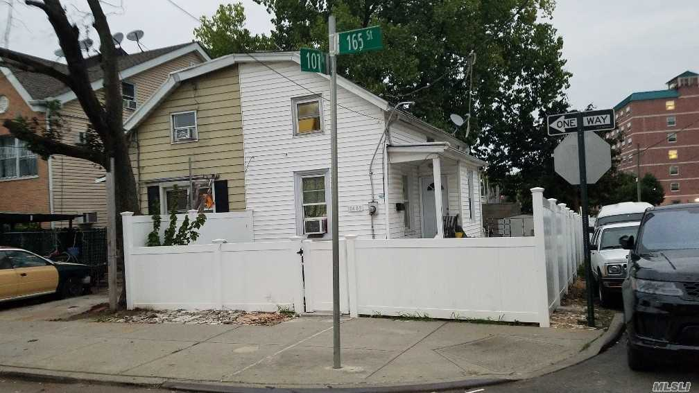 Photo of home for sale at 104-83 165th St, Jamaica NY