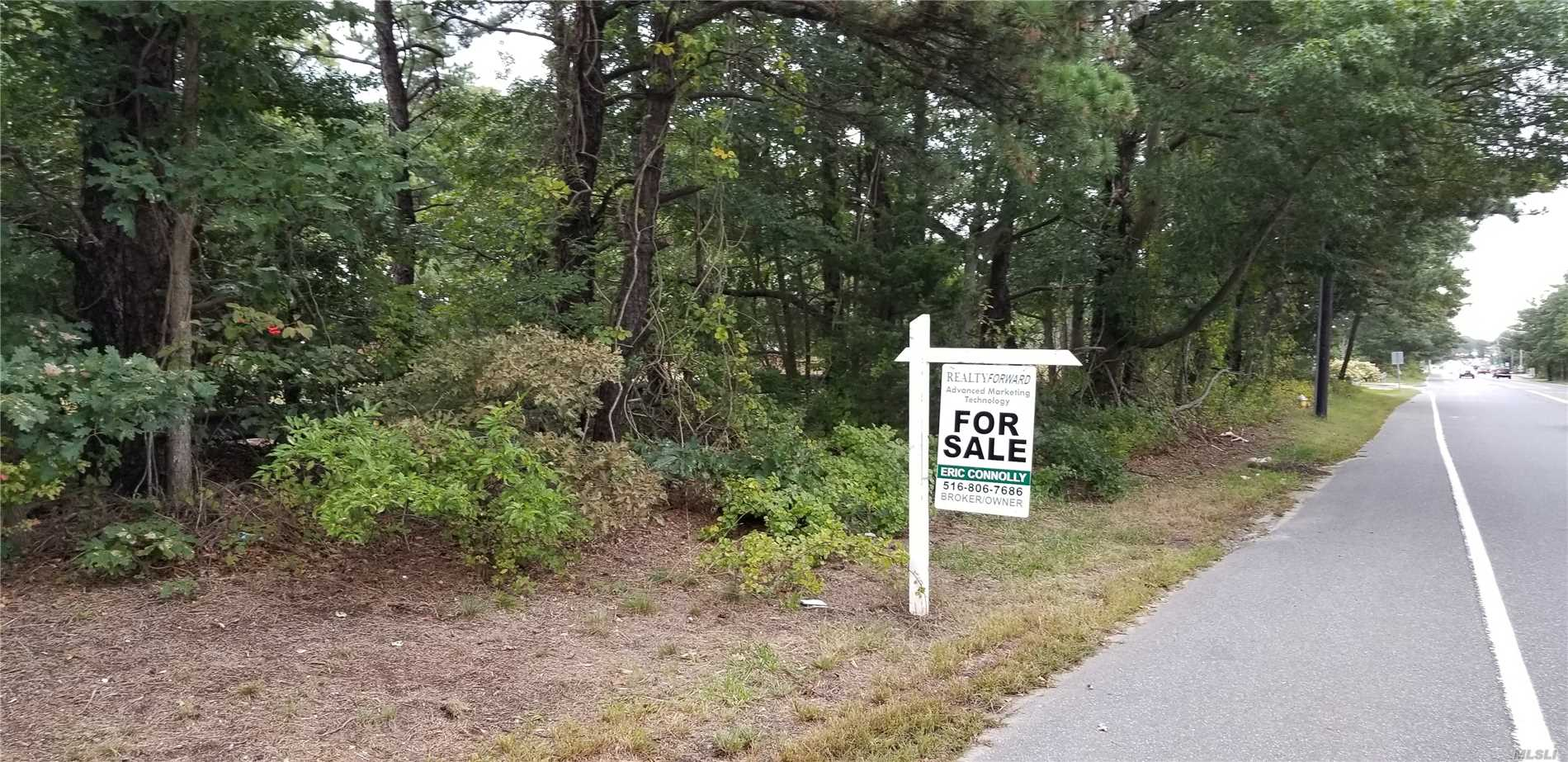 Photo of home for sale at 0 Horseblock Rd, Medford NY