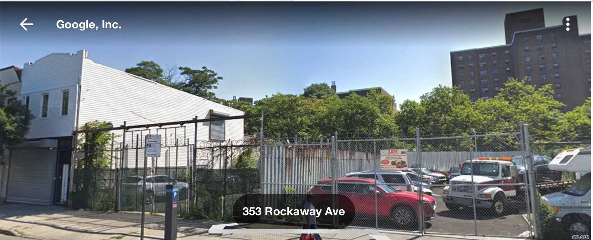 Photo of home for sale at 347&353 Rockaway Ave, Brooklyn NY