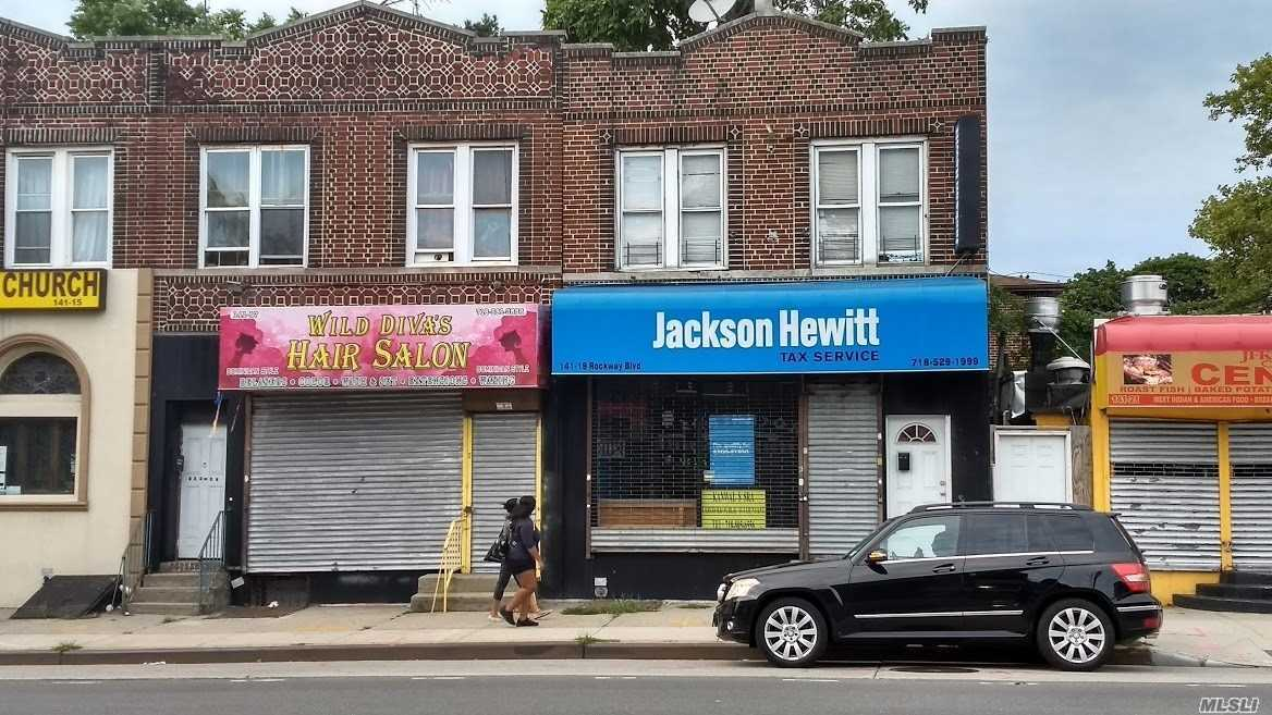 Photo of home for sale at 141-19 Rockaway Blvd, Jamaica NY