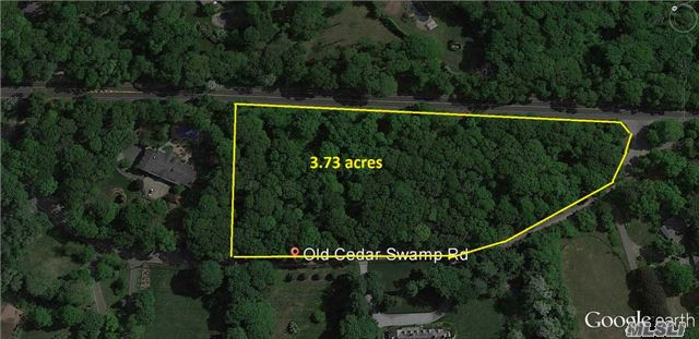 Photo of home for sale at Lot 1006 Cedar Swamp Rd, Upper Brookville NY