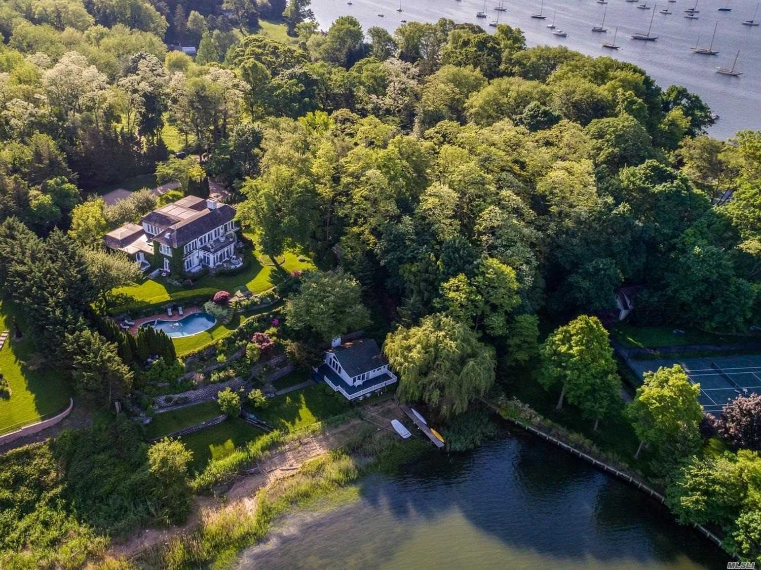 Photo of home for sale at 536 Centre Island Rd, Centre Island NY