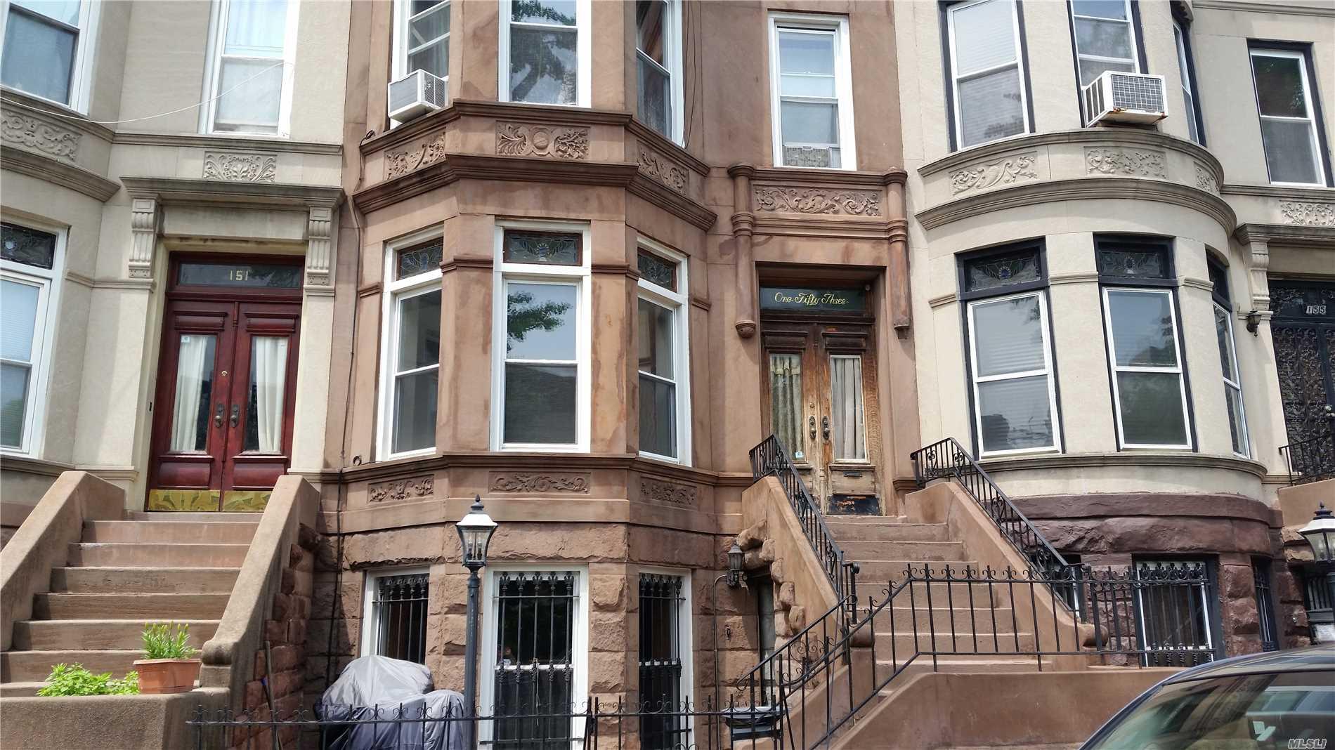 Photo of home for sale at 153 Bainbridge St, Brooklyn NY