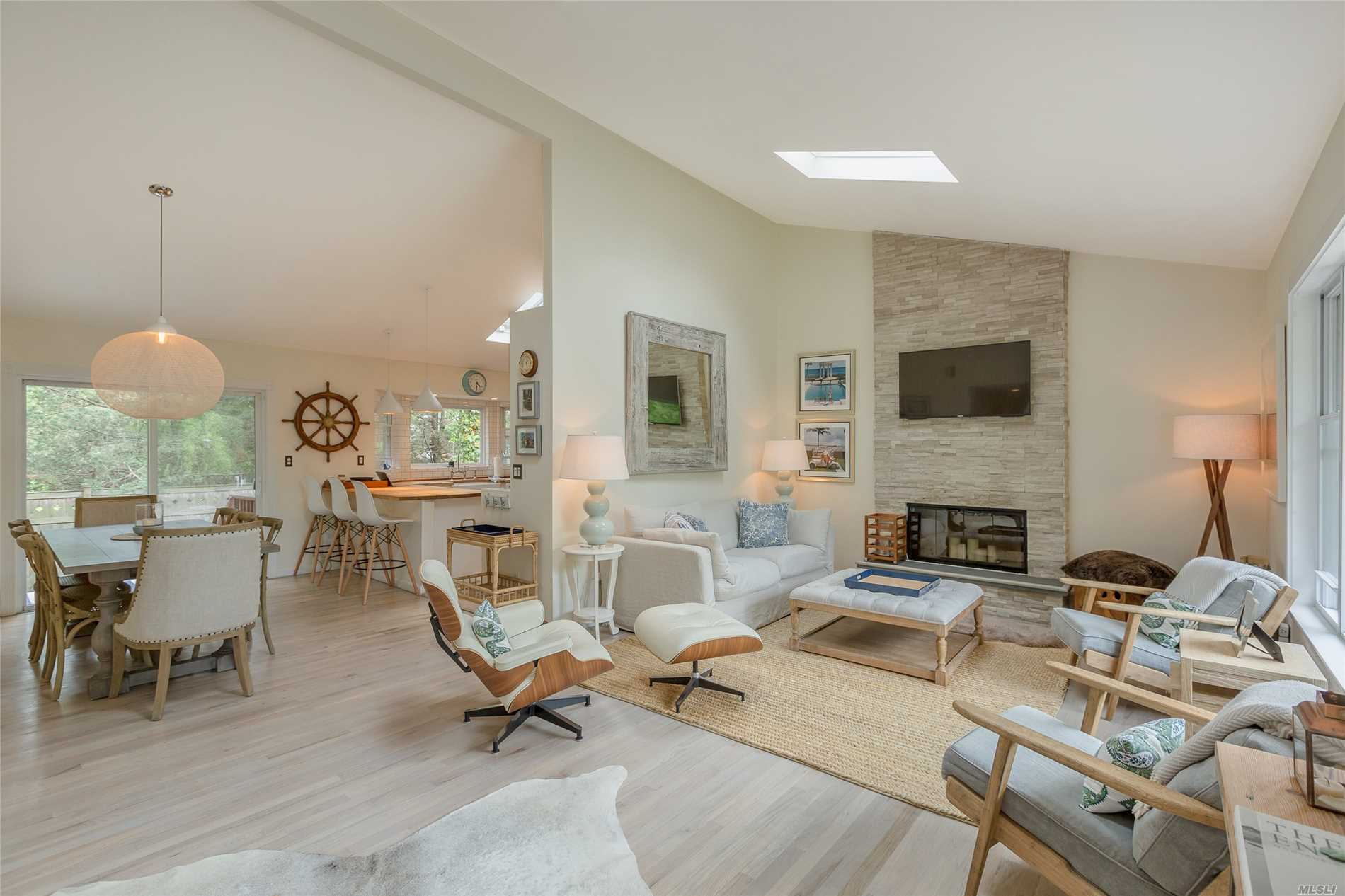 Photo of home for sale at 42 Oak St, Westhampton Bch NY