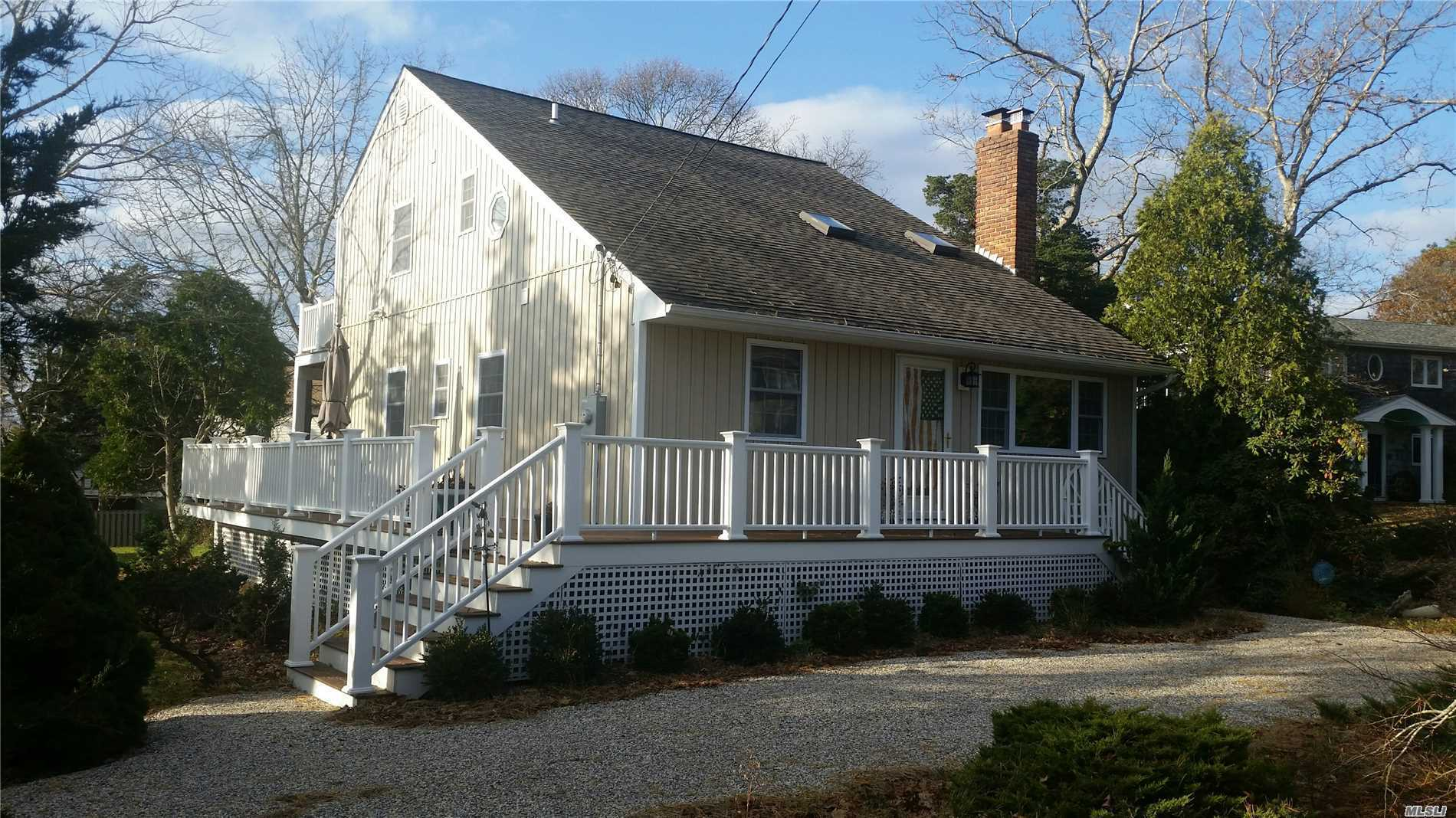 Photo of home for sale at 35 Grant Blvd, Hampton Bays NY