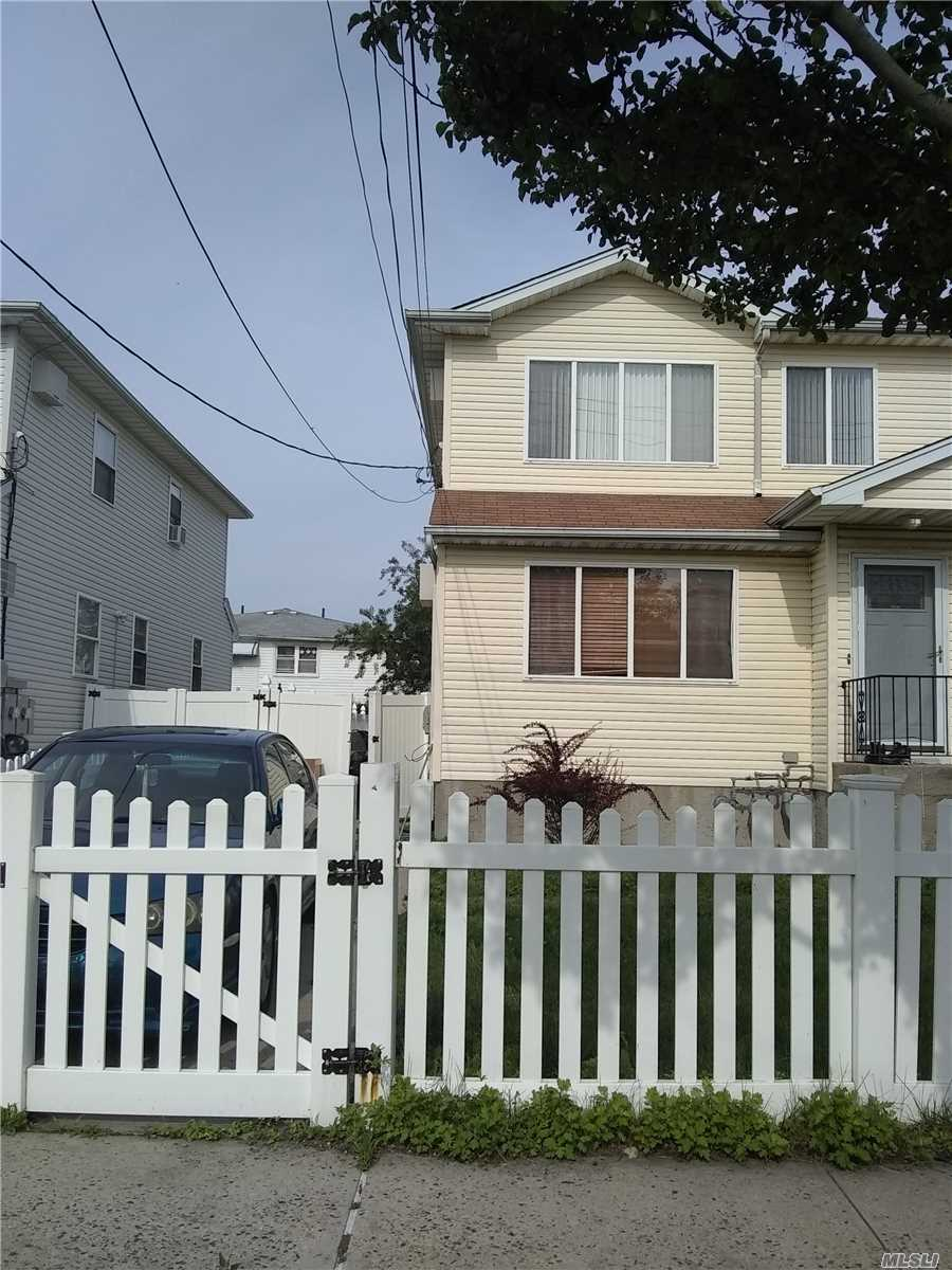 Photo of home for sale at 515 Beach 63rd St, Far Rockaway NY