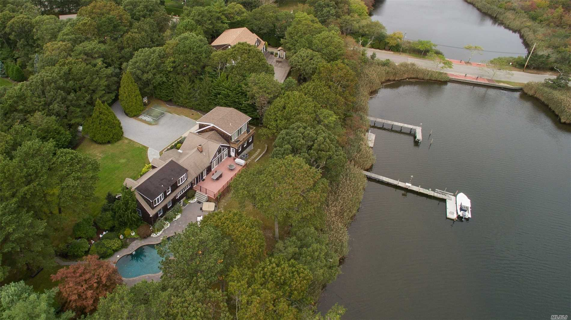 Photo of home for sale at 87 Brook Rd, Westhampton Bch NY