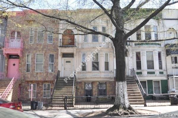 Photo of home for sale at 708 Chauncey St, Brooklyn NY