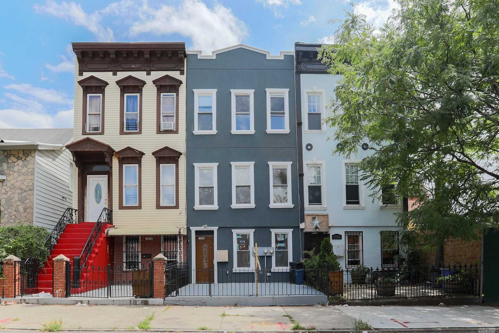 Photo of home for sale at 1046 Herkimer St, Brooklyn NY